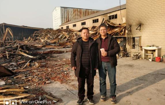 名士达慈善联盟爱心救助上海火灾家具厂