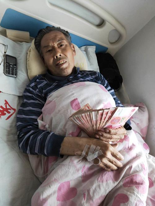 名士达慈善联盟爱心救助北京家具厂油友患病家属!