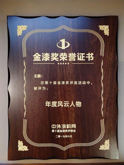 行业殊荣,实力见证—漆谷集团喜获大奖
