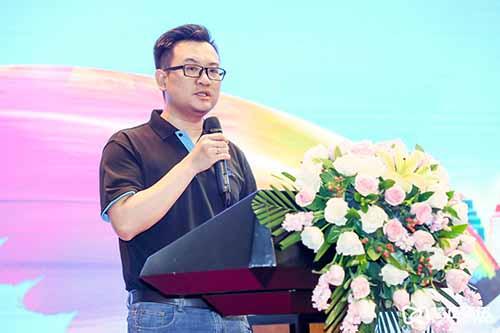 买化塑信息服务公司营销总监陈树煌先生致辞