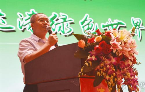 湖南家具协会执行会长兼秘书长刘发刚先生致辞