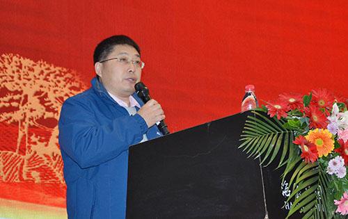 漆谷集團董事長王鵬先生致辭