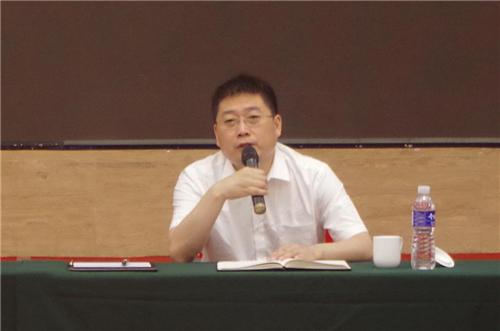 漆谷集团董事长王鹏先生作重要讲话