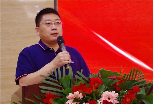 漆谷集团董事长王鹏先生精彩致辞