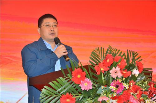 漆谷集团董事长王鹏先生作精彩致辞