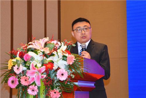漆谷研究院副院長李耀峰先生作工作匯報