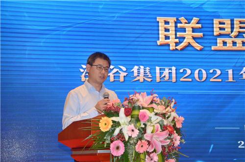 上海凌盟新材料總經理吳月平先生發言